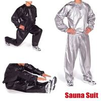traje sudor ejercicio Duty Sweat Sauna Exercise Gym Fitness Weight Loss Suit
