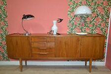 vintage 60s Sideboard formschön 60er Jahre Kredenz Anrichte Teak danish design