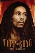 REGGAE POSTER Bob Marley Tuff Gong