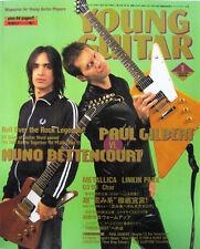 Young Guitar Jan/04 Nuno Extreme Paul Gilbert Metallica Linkin Park Eric Clapton
