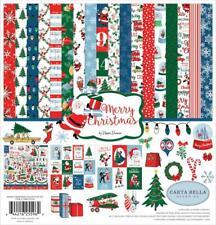 Carta Bella MERRY CHRISTMAS 12x12 Collection Kit Steven Duncan Retro