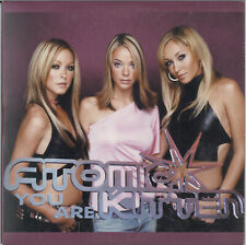 ATOMIC KITTEN - YOU ARE / RIGHT NOW (MIX) 2001 EU CARD SLEEVE CD SINGLE SINCDE31