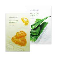 [NATURE REPUBLIC] Real Nature Mask Sheet (New) - 6pcs
