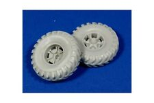 "PANZER ART RE35-134 1/35 Road Wheels for Sd.Kfz.9 ""FAMO"" (British Cross tyres)"