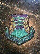438th Military Airlift Wing Squadron Patch Subdued Usaf Vtg Orig Rare 3� 80s