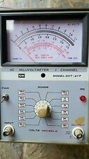 GW GVT-417 1 Channel AC Millivoltmeter Decibel Meter Tape Audio