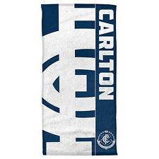 *NEW 2017* Carlton Blues AFL Beach Bath Gym Towel Fathers Day Christmas Gift
