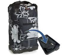 Lightweight 2 Wheeled Folding Shopping SHOPPER Cabin Travel Bag Trolley Ryanair Midnight Floral