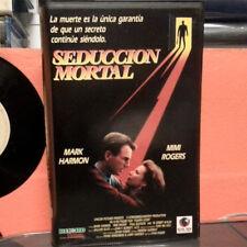 SEDUCCION MORTAL (Ivan Passer) VHS . Mark Harmon Mimi Rogers Paul Gleason
