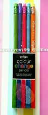 NEW! SMIGGLE COLOUR CHANGE PENCILS -  PACK OF 5