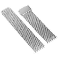 18mm 20mm 22mm Milanese Watchband Mesh Stainless Steel Strap Wrist Belt Bracelet