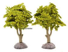 "Miniature Artificial Tree Light Green 4"" Dollhouse Fairy Gnome Garden MI 50994"