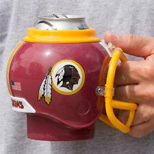Washington Redskins All in One Helmet Can & Bottle Cooler, Mug and Desk Caddy