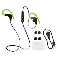 New Bluetooth Wireless Sport Earphone Headphone Headset For iPhone Samsung US