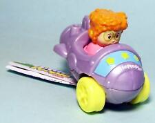 Fisher Price Little People Wheelies cars Sofie silver car New