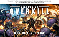 WH40k Deathwatch Overkill separate Units - select one or more