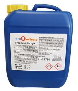 Chlorbleichlauge / Natriumhypochlorit - frische Ware mit 13% Aktivchlor 5,0 l