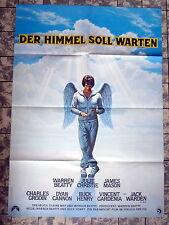 HEAVEN CAN WAIT * WARREN BEATTY - A1-FILMPOSTER - German 1-Sheet ´78 Himmel ...