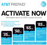 AT&T Prepaid Sim card with $35, $50 or $65 plan & SIM CARD
