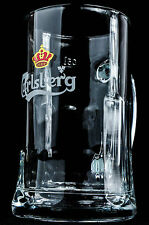 "Carlsberg Bier, Markenglas, Bierkrug, Bierseidel, Bierglas 0,5l ""Emblem weiß"""