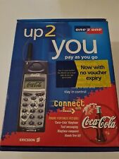 Promotional ERICSSON A1018s COCA-COLA MOBILE PHONE NEW never used VINTAGE