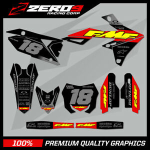 Custom MX Graphics Kit: SUZUKI RM RMZ 125 - 450 - FMF