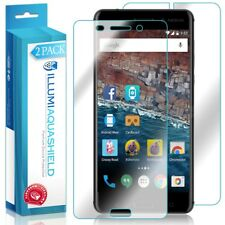 2x iLLumi AquaShield Front Screen + Back Panel Protector for Nokia 6 (2017)