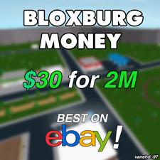 Roblox Account Bloxburg Ebay