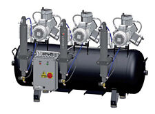 Cattani 3-Zylinder-Kompressor 013599 Haube Compressor Dental AC 900 Trockenlu