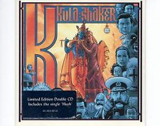 CD KULA SHAKER K LIMITED EDITION includes the single HUSH