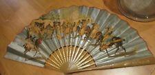 ancien eventail fan abanico ventaglio espagne tauromachie espana sevilla corrida