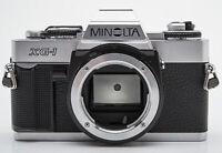Minolta XG-1 Body Gehäuse analoge Spiegelreflexkamera SLR