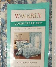 Waverly Anatalya-Aegean 4 Piece Queen Bedding Collection NIP, 1st Quality