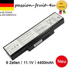AKKU für ASUS A32-K72 A32-N71 A72D K72J A73S K73S N71J N73S X72J X73S Batterie