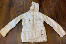Burton Jacket Coat Medium Women's Ivory Cream Off White Snow Ski