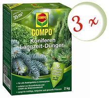 COMPO Koniferen Langzeit-dünger 2 Kg