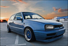 VW GOLF 3 MK3 III front bumper spoiler chin lip addon valance trim splitter MK