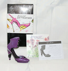 Just The Right Shoe by Lorraine Vail Shoe Miniature - Knockout J091209 & COA