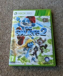 THE SMURFS 2 Microsoft XBOX 360 Complete With Manual PAL UK