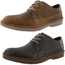 CLARKS Para hombres Zapatos para Caminar VARGO Llano
