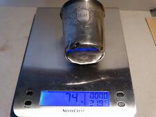 timbale en argent 74 gr poincon minerve (C06)