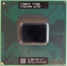 Intel Core2Duo Mobile T7200 2.0/4M/667 FSB667 Sockel M CPU Prozessor Notebook