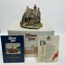 Lilliput Lane Aberford Gate Collectible Cottages Signed Deed&Box Handmade in Uk
