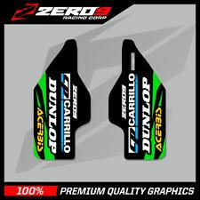 Kawasaki Kxf 250/450 09-016 Motocross gráficos Mx gráficos Inferior Horquilla calcomanía FR
