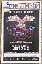Widespread Panic 2016 Gig Poster Bend Oregon Concert