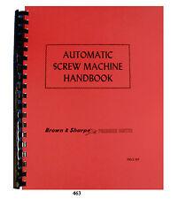 210 /& 310  Parts Manual 1222 307 Brown-Sharpe Dynamaster Milling Machines 207