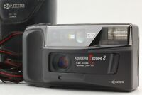 [TESTED! Exc+4 w/case]  kyocera T scope 2 Zeiss Tessar 35mm f2.8 from Japan #142
