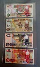 50  KWACHA  2006 ZAMBIA P 37e   LOT  2 PCS   Uncirculated Banknotes