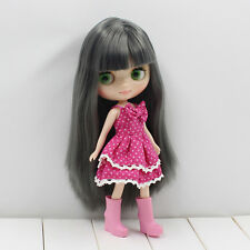 "8"" Neo Middle Blythe Doll Long Hair Nude Doll from Factory JSW85004+Gift"