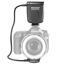 Neewer LED Macro Ring Flash FC100 for Canon 1D 5D 7D Mark II Nikon D5000 Camera